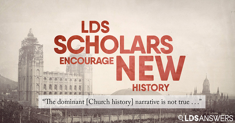 The Dominant Church History Narrative Is Not True Lds