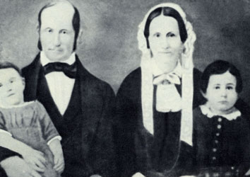 Heber C. and Vilate Kimball family