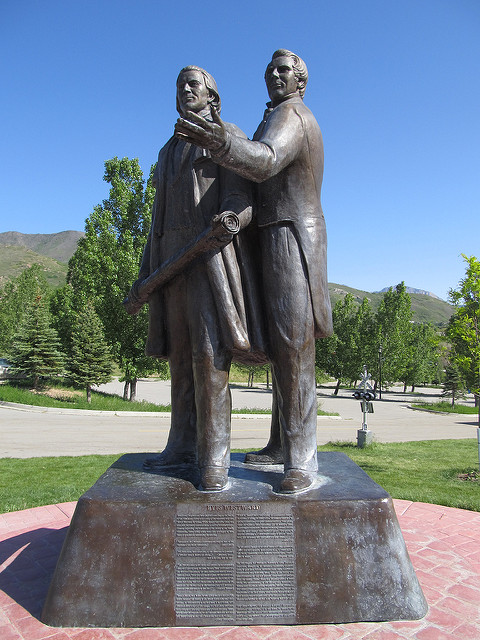 Joseph Smith and Brigham Young